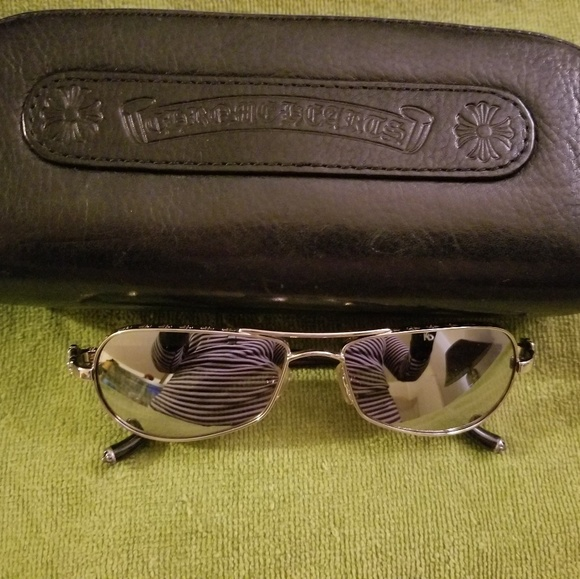 cceeee3904a6 Chrome Hearts Accessories - Authentic Chrome Hearts aviator sunglasses